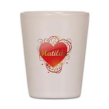 Matilda Valentines Shot Glass
