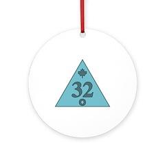 32nd Degree Canada Ornament (Round)