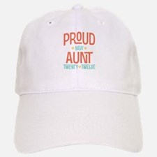 Proud New aunt 2012 Baseball Baseball Cap