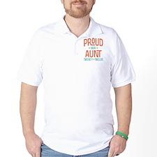 Proud New aunt 2012 T-Shirt