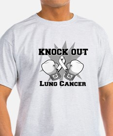 Knock Out Lung Cancer T-Shirt