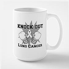 Knock Out Lung Cancer Mug