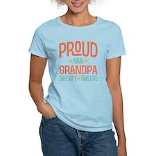 Proud New grandpa 2012 T-Shirt