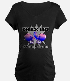 Knock Male Breast Cancer T-Shirt