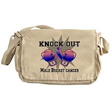 Knock Male Breast Cancer Messenger Bag