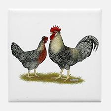 Legbar Cream Fowl Tile Coaster
