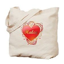 Haley Valentines Tote Bag