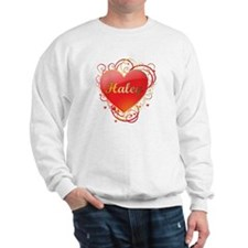 Haley Valentines Sweatshirt