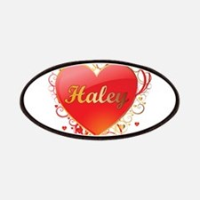 Haley Valentines Patches