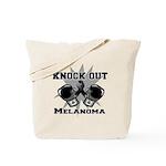 Knock Out Melanoma Tote Bag