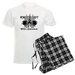 Knock Out Melanoma Men's Light Pajamas