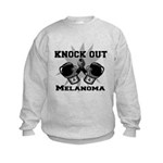 Knock Out Melanoma Kids Sweatshirt