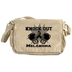Knock Out Melanoma Messenger Bag