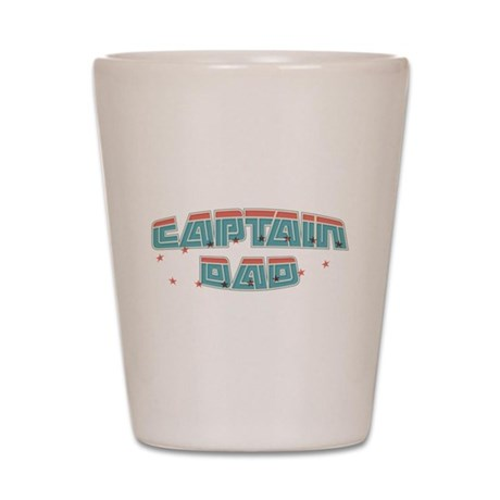 Captain dad Shot Glass