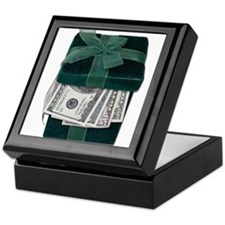 Gift Box Full of Money Keepsake Box