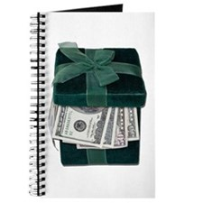 Gift Box Full of Money Journal