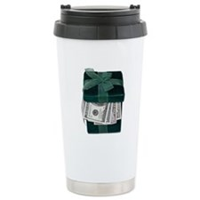 Gift Box Full of Money Travel Mug