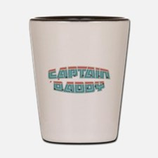 Captain daddy Shot Glass