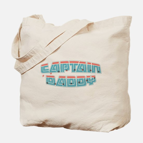 Captain daddy Tote Bag