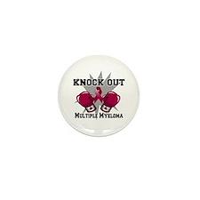 Knock Multiple Myeloma Mini Button (10 pack)