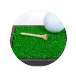 Golf Ball Tee Laying on Grass 3.5