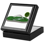 Green Footprint Keepsake Box