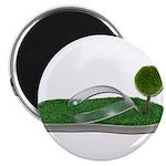 Green Footprint Magnet