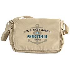 US Navy Norfolk Base Messenger Bag