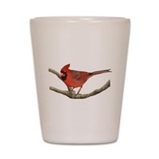 Cute Cardinals Shot Glass