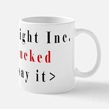 Straight SUcked Mugs