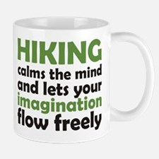 Hiking Calms the Mind Mug