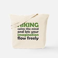 Hiking Calms the Mind Tote Bag