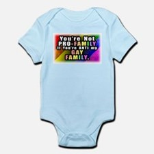 Gay Family Infant Bodysuit