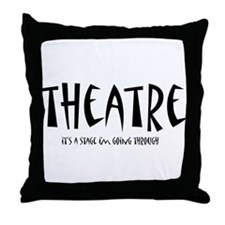 Cute Actors Throw Pillow