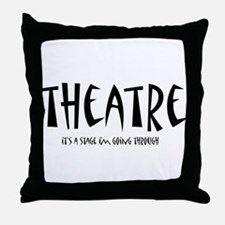Unique Stage Throw Pillow