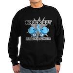 Knock Out Prostate Cancer Sweatshirt (dark)
