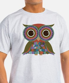 Little Colorful Owl T-Shirt