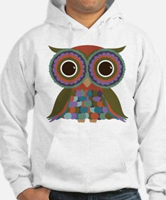 Little Colorful Owl Jumper Hoody