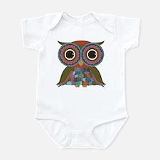 Little Colorful Owl Infant Bodysuit