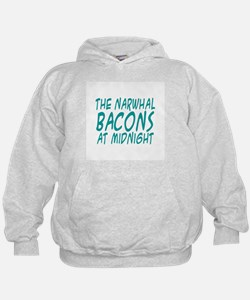 the Narwhal Bacons at Midnigh Hoodie