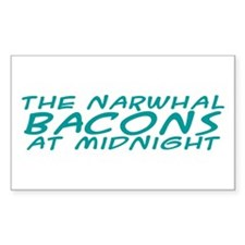 the Narwhal Bacons at Midnigh Decal
