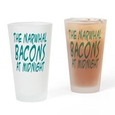 the Narwhal Bacons at Midnigh Drinking Glass