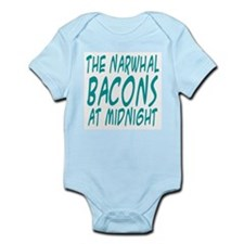 the Narwhal Bacons at Midnigh Infant Bodysuit