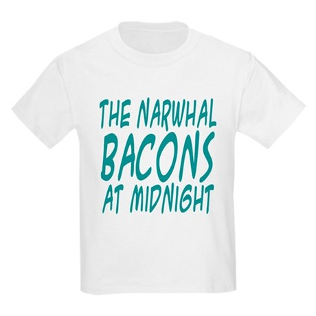 the Narwhal Bacons at Midnigh Kids Light T-Shirt