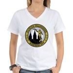 Florida Tallahassee LDS Missi Women's V-Neck T-Shi