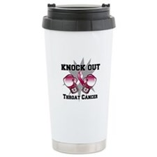 Knock Out Throat Cancer Thermos Mug