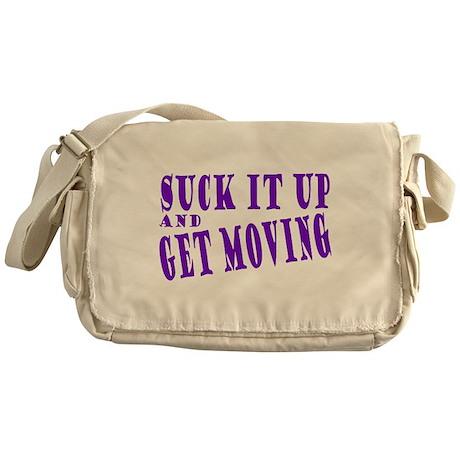 Get Moving Messenger Bag