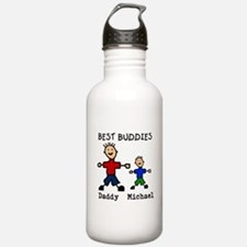 Cute Fathers day Water Bottle