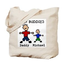 Cute Fathers day Tote Bag