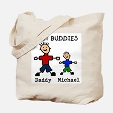 Funny Fathers day Tote Bag